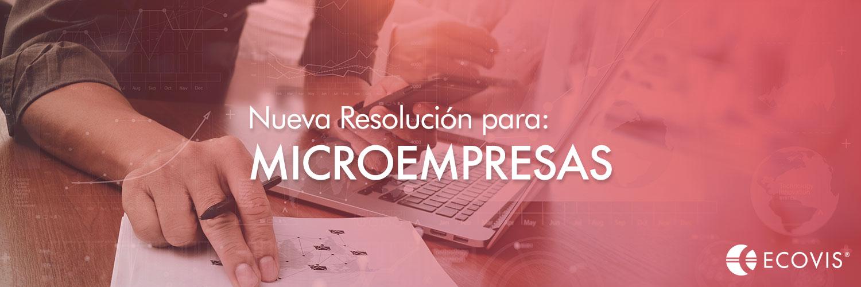 Régimen Impositivo para Microempresas 2020