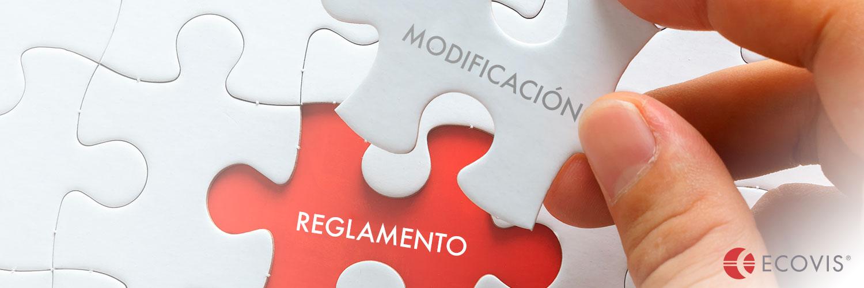 modificacion reglamento